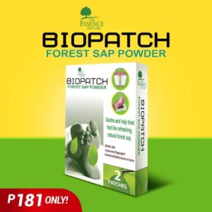 Biopatch Forest Sap Powder – 2 Patches - GIDC Philippines