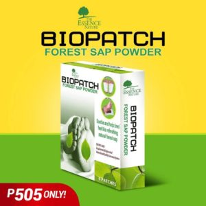 Biopatch Forest Sap Powder – 6 Patches - GIDC Philippines