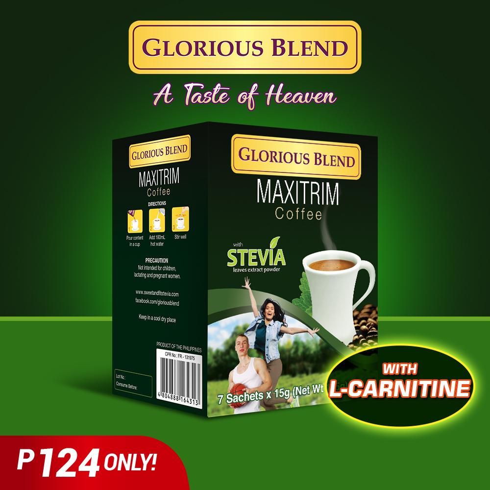 Glorious Blend Maxtrim Coffee - GIDC Philippines