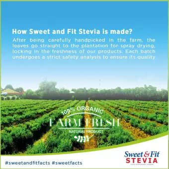How sweet and Fit stevia is made?