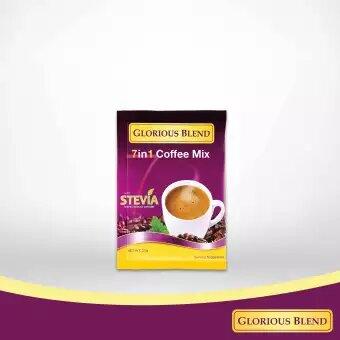 Glorious Blend 7 in 1 Coffee w Stevia 21g x 7 sachets 1