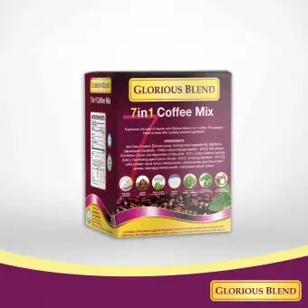 Glorious Blend 7 in 1 Coffee w Stevia 21g x 7 sachets 5