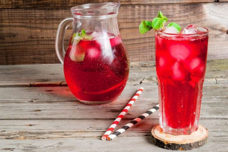 Glorious Blend Iced Tea with Stevia Mixed Berries Flavor 200mL (Keto Friendly, Diabetic Fr