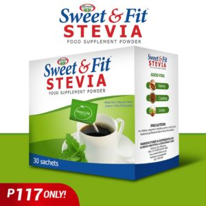 Sweet & Fit Stevia 30s - GIDC Philippines