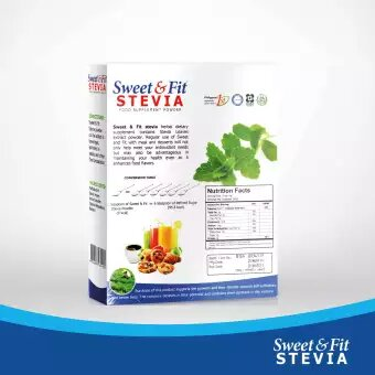 Sweet & Fit Stevia 500g (Sugar Substitute, Zero Calorie Sweetener) - GIDC Philippines