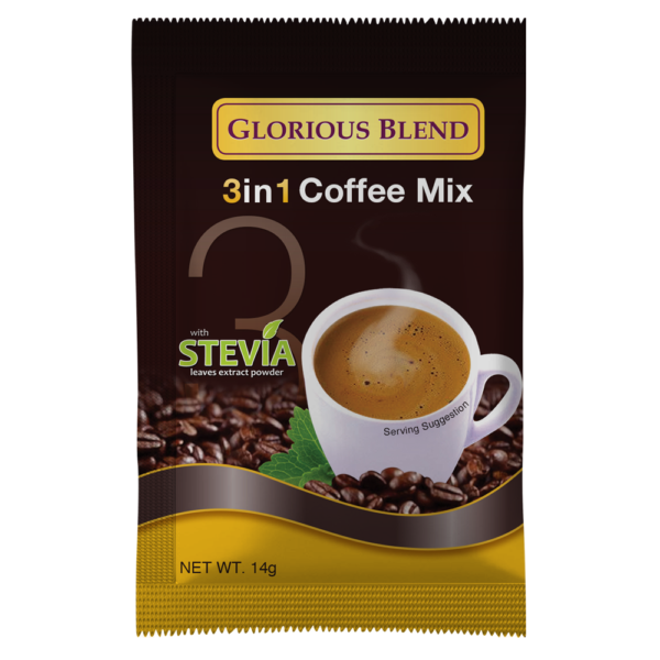 Glorious Blend 3in1 Coffee Mix - GIDC Philippines
