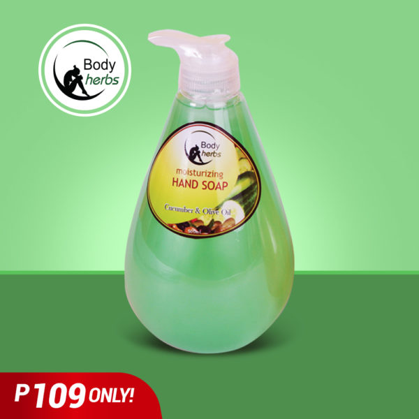 Body Herbs handsoap cucumber - GIDC Philippines