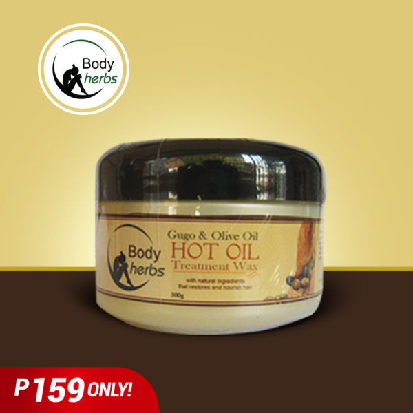 Body Herbs hot oil Gugo & Olive Oil - GIDC Philippines