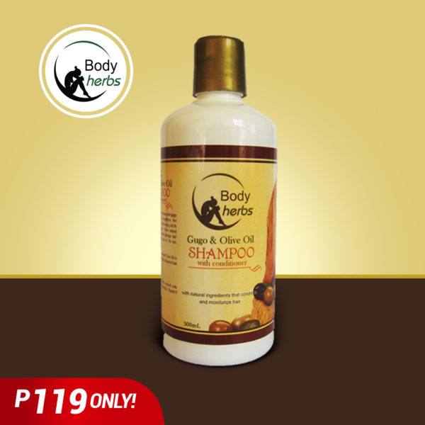 Body Herbs Shampoo Gugo and Olive Oil - GIDC Philippines