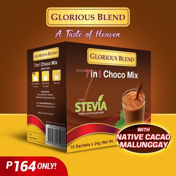 Glorious Blend 7in1 Choco - GIDC Philippines