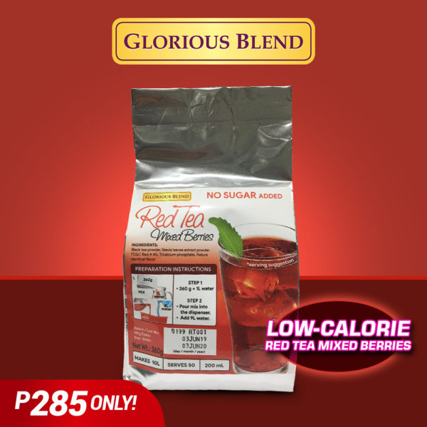 Iced tea Red 200ml - GIDC Philippines