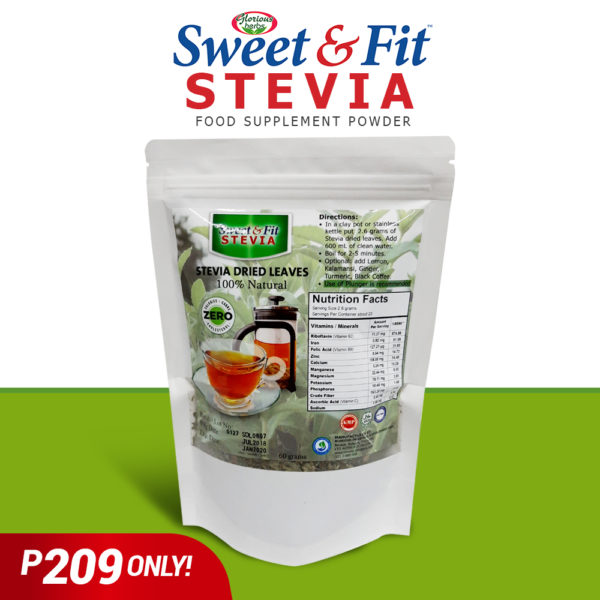 SNF stevia dried leaves - GIDC Philippines