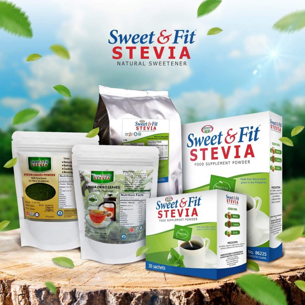 Sweet & fit products