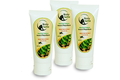 Body Herbs Insect Repellent Herbal Lotion