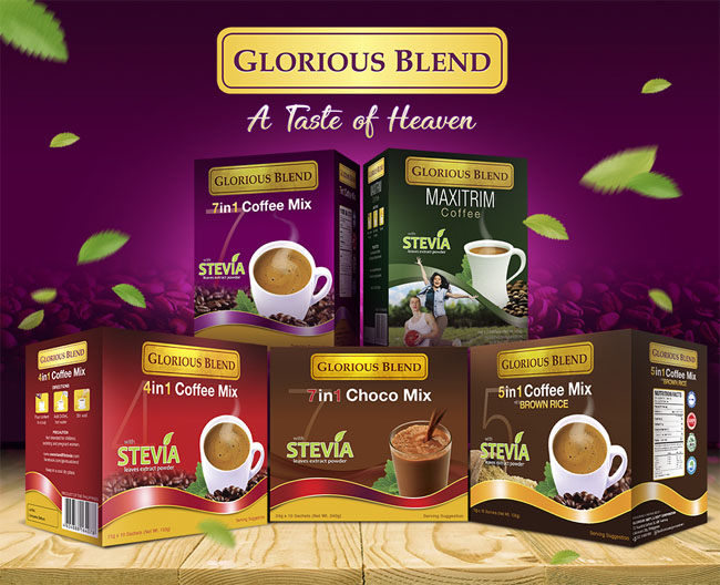 Glorious Blend Coffee: the Healthy Instant Coffee Mix