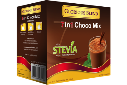 Glorious Blend 7 in 1 Choco Mix w/ Stevia