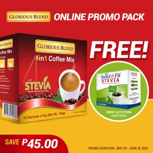 Glorious Blend 4 in 1 Coffee Mix - GIDC Philippines